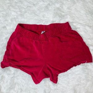 Old Navy Red Shorts. Size S